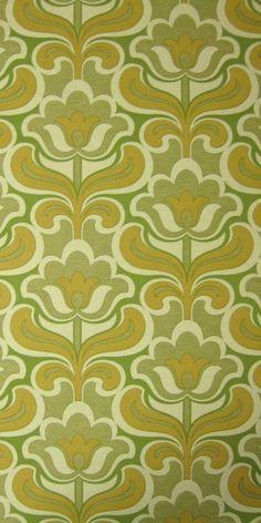 Frohlinde | Geometric Wallpaper | Vintage Wallpaper | Johnny-Tapete