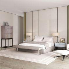 Small Modern Bedroom, Simple Bedroom Design, Master Bedroom Design, Small Rooms, Home Bedroom, Bedroom Ideas, Bedroom Designs, Bedroom Wall, Bedroom Decor