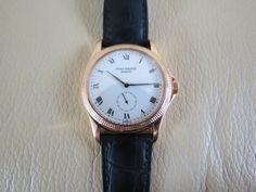 Patek Philippe Calatrava 18K Solid Gold Watch Ref. 5115