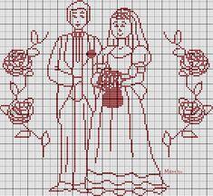 132 Fantastiche Immagini Su Punto Croce Sposi Cross Stitch