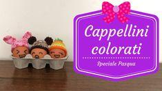 Speciale Pasqua - Cappellini colorati #pasqua #uncinetto #crochet #easter #bunny #decorazione #uova