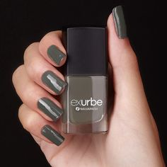 Rock the Night by exurbe cosmetics is a vegan nailpolish in anthrazite. exurbe nailpolish is cruelty free and The formulation is free of formaldehyde, formaldehyderesin, DBP, toluene und campher. Cruelty Free, Rock, Nail Polish, Cosmetics, Night, Nails, Beauty, Color, Vegan Nail Polish