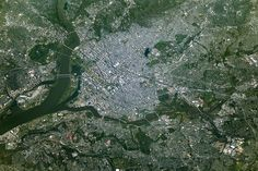 Washington on the Potomac River : Image of the Day : NASA Earth Observatory