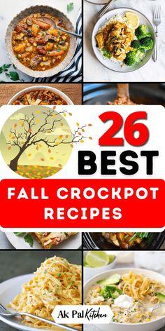 Fall Crockpot Recipes, Fall Dinner Recipes, Crockpot Dishes, Crock Pot Slow Cooker, Crock Pot Cooking, Fall Recipes, Slow Cooker Recipes, Cooking Recipes, Crockpot Meals