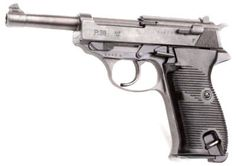 Walther P38 - just 'cause it's cool looking