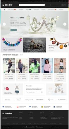 Compo is beautifully design responsive #Magento theme for #Jewelry #shop stunning eCommerce websites 10+ multipurpose homepage layouts download now➩ https://themeforest.net/item/compo-multipurpose-responsive-magento-2-and-magento-1-theme/19327493?ref=Datasata
