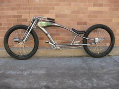 Rat Rod Cruiser Bike - http://www.ratrodbikes.com
