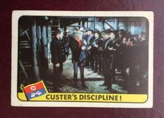 #Vintage 1967 a&bc ~  #'legend of custer' gum card c/w indian #stamp - # 11 ~ vgc,  View more on the LINK: 	http://www.zeppy.io/product/gb/2/131930665228/
