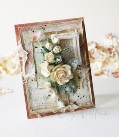 Wild Orchid Crafts: Vintage Rose Card