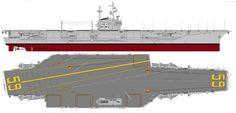 USS Forrestal - Forrestal class Aircraft Carrier