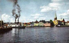 Havnen i 1950