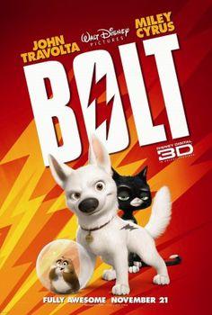 From walt disney animation studios comes bolt, the tale. Disney's bolt coming to blu-ray and disney dvd on march Disney Films, Disney Cinema, Walt Disney Animated Movies, Animated Movie Posters, Disney Movie Posters, Disney Villains, Disney Cartoons, Film Posters, Film Pixar