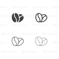 Coffee Icon Icons from GraphicRiver Coffee Bean Logo, Coffee Bean Decor, Coffee Bean Tree, Coffee Bean Candle, Coffee Shop Logo, Coffee Type, Coffee Coffee, Chocolate Covered Espresso Beans, Chocolate Covered Coffee Beans