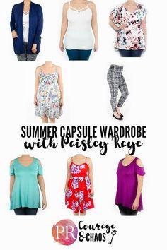 Paisley Raye Capsule Wardrobe
