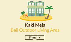 Kaki Meja Outdoor Living Area di Bali - FilMaria
