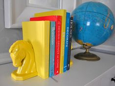 Sherry of Young House Love shares how she remade these horse head bookends.