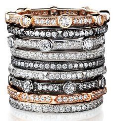 Diamond Stack Rings :-)