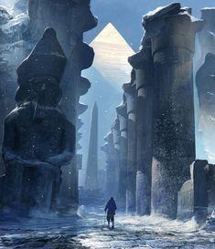 Journey into a Frozen Kingdom by Feng Zhu