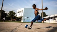 ...a jumble of community, poverty, friendship, and simple living united around their love — for each other, for God, and for soccer.