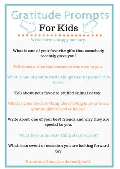 Journal Prompts For Kids, Gratitude Journal Prompts, Writing Prompts For Kids, Kids Writing, Journal Ideas, Journal Layout, Teaching Writing, Gratitude Quotes Thankful, Attitude Of Gratitude