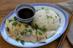 Hainan chicken rice is a gloriously subtle dish. At the core, it is simply gently poached chicken served with rice that has been cooked in the liquid. Each piece of chicken is cooked just to the point of doneness. The tender grains of rice are enriched with the rendered chicken fat, leaving them glistening and sweet.    Poaching the chicken in the Anova Sous Vide Precision Cooker takes all of the guesswork out of the equation. You'll know the meat is perfectly cooked every time while…