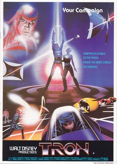 Tron Campaign Book & Synopsis | UK Edition