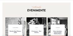 VeryCreative a conceput pentru Mon Chateau Restaurant un website absolut delicios si rafinat. Mon Chateau Restaurant este unul din cele mai elegante si mai apreciate restaurante din Bacau. Web Design Projects, Mai, Website, Restaurant