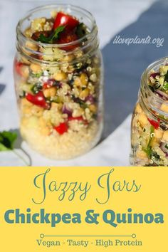 This will be your new favorite quinoa salad recipe for vegan meal prep! Vegan Quinoa Recipes, Best Vegan Recipes, Vegan Foods, Whole Food Recipes, Healthy Recipes, Diet Recipes, Paleo Vegan, Healthy Meals, Plant Based Whole Foods