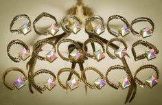 Kaleidoscope Bracelets from Urraca Vintage