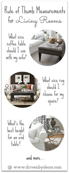 Decorating Your Living Room Must Have Tips