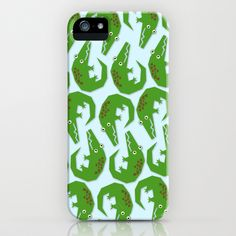 croc iPhone & iPod Case by elvia montemayor - $35.00