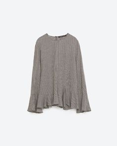 Image 5 of FRILLED CHECK TOP from Zara
