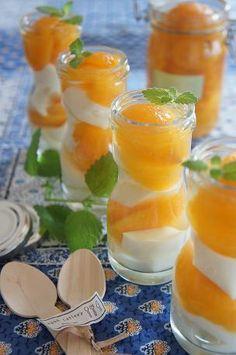 ビワの冷たいデザート- Apricots!!