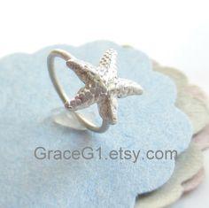 starfish rook/tragus earring