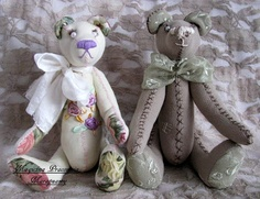 embroidered teddy bears