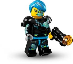 LEGO Collectible Series 16 Cyborg Minifigure Minifig Only Entry