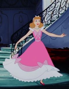 ci derella in pink dress | Cinderella pink