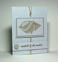 F4A72, Seashells by the Seashore by Missro - Cards and Paper Crafts at Splitcoaststampers