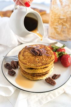 Sweet Potato Oat Blender Pancakes are made right in your blender and full of whole foods, nutritious ingredients. Oat Blender Pancakes are nutritious dense, made exclusive with oat flour that you can blend right up in your blender. You can sub pumpkin or even banana for the sweet potato- all great and healthychoices! As we...Read More »