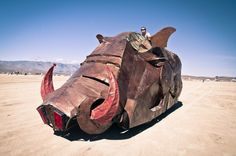 The Art Cars of Burning Man 2013 - http://picspoon.com/the-random/art/the-art-cars-of-burning-man-2013/