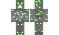 minecraft skin emerald-creeper