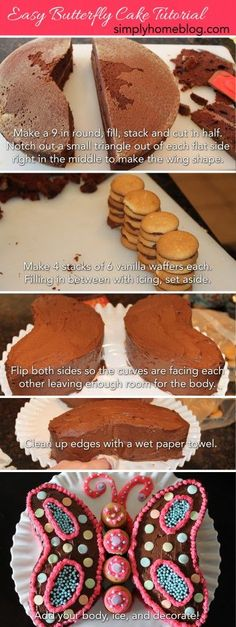 Butterfly Cakes The Cutest Collection Of Ideas | The WHOot