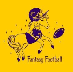 Fantasy Football Unicorn - By Gabriel Harvey & Elizabeth Harvey