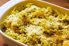 Kalyn's Kitchen®: Recipe for Twice-Baked Spaghetti Squash with Pesto and Parmesan