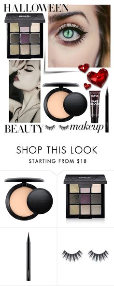 """""""Halloween Makeup"""" by creation-gallery ❤ liked on Polyvore featuring beauty, MAC Cosmetics, Avon, Halloween and HALLOWEENBEAUTY"""
