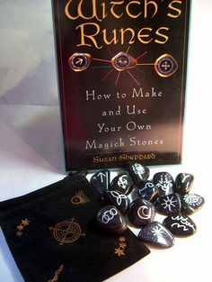 witch's runes, witches runes, witch rune, carved, custom