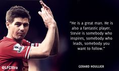 24 football stars pay tribute to Steven Gerrard Liverpool Legends, Liverpool Players, Liverpool Fans, Liverpool Football Club, Best Football Team, Football Memes, Steven Gerrard Liverpool, Stevie G, Xabi Alonso