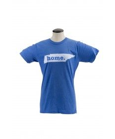 From The Home T comes this Tennesse Home shirt. The Home T prints on super soft cotton shirts (made in the USA!) and a portion of their sales benefits the National Multiple Sclerosis Society to benefit multiple sclerosis research. Whether you're a Tennesseean or not, show everyone that home is really where the heart is. Unisex sizing.
