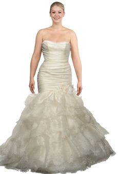 Bridal Gowns For The Curvy Bride On Pinterest Curvy