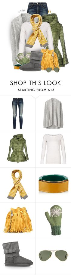 """""""Sunny Winter"""" by jewhite76 ❤ liked on Polyvore featuring rag & bone, Uniqlo, Moncler, Orla Kiely, Marni, STELLA McCARTNEY, Laundromat, Australia Luxe Collective, Ray-Ban and Dolce&Gabbana"""